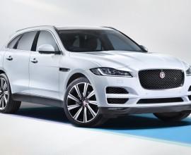 Jaguar F-PACE SUV 2017