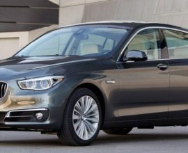 2017 BMW 5 Series Gran Turismo Hatchback