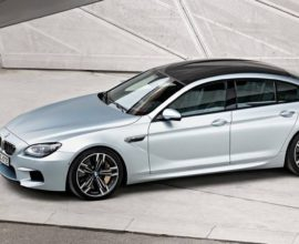 2017 BMW M6 Gran Coupe Sedan