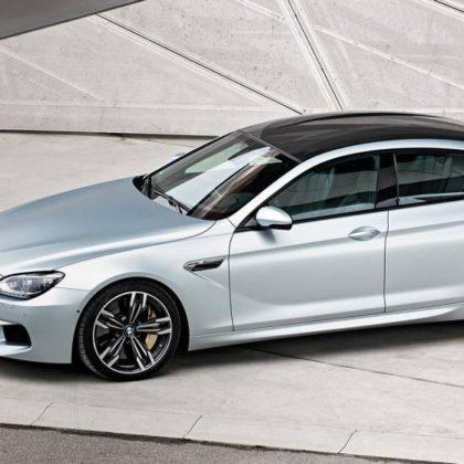 2017 BMW M6 Gran Coupe Sedan