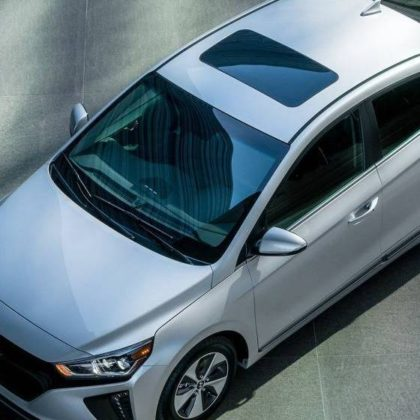 2017 Hyundai Ioniq Electric Hatchback