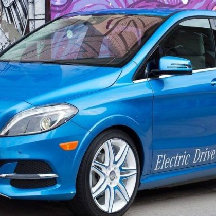 2017 Mercedes-Benz B-Class Electric Drive Hatchback