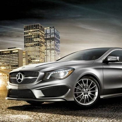 2017 Mercedes-Benz CLA-Class Sedan
